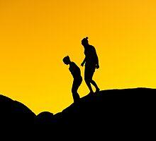 """ Sunset Silhouette "" by helmutk"