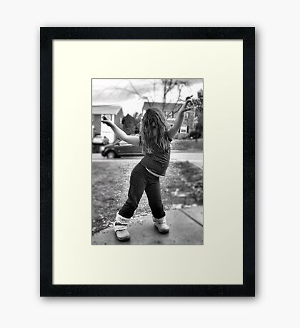 Moves 1 Framed Print