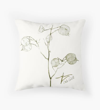 China Leaves Throw Pillow