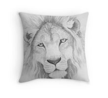 Lion's Head Throw Pillow