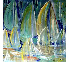 Summer Sailing Photographic Print