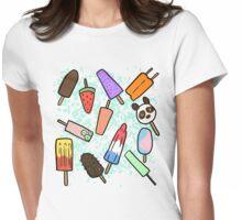 Ice Cream Bars Womens Fitted T-Shirt