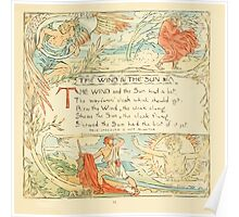 The Baby's Own Aesop by Walter Crane 1908-15 The Wind and the Sun Poster