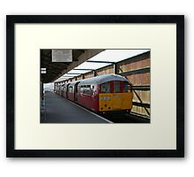 The Past in the Present Framed Print