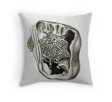 Seedy Pepper Study Throw Pillow