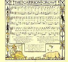 The Baby's Boquet - A Fresh Bunch of Old Rhymes and Tunes - by Walter Crane - 1900-34 The Carrion Crow by wetdryvac