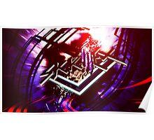 Skrillex Logo Design Poster