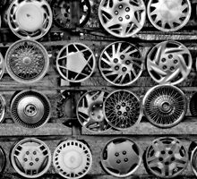Hubcaps by Terry Doyle