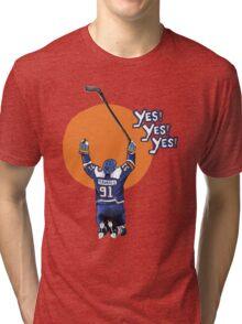 John Tavares #91 Tri-blend T-Shirt