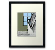 A Stairwell in Limerick Framed Print