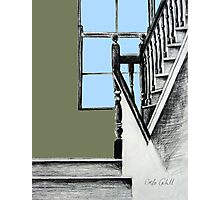 A Stairwell in Limerick Photographic Print