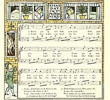 The Baby's Opera - A Book of Old Rhymes With New Dresses - by Walter Crane - 1900-34 Christmas Day In Ye Morning by wetdryvac