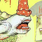 Stomach Ache (tee design) by KillerNapkins