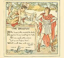 The Baby's Own Aesop by Walter Crane 1908-35 The Boaster by wetdryvac