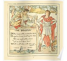 The Baby's Own Aesop by Walter Crane 1908-35 The Boaster Poster