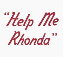 Help me Rhonda Kids Clothes
