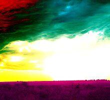 Zombie Sunset by Cheyenne