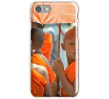 The Young Monk  iPhone Case/Skin