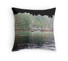 Halong Bay, Vietnam Throw Pillow