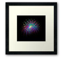 'Fireworks 2' Framed Print