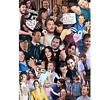 April and Andy - Parks and Recreation Photographic Print