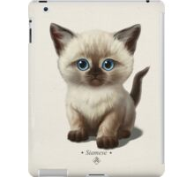 Cataclysm- Siamese Kitten Classic iPad Case/Skin