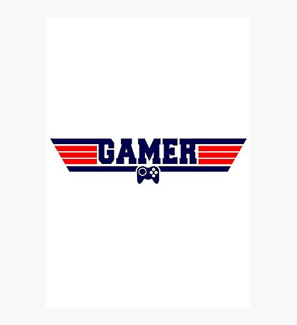 Top Gamer Photographic Print