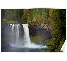Koosah Falls, Oregon Poster