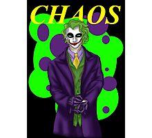 Chaos Photographic Print