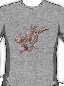 Watercolour Squirrel T-Shirt