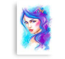 woman fantasy beautiful portrait  Canvas Print