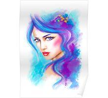 woman fantasy beautiful portrait  Poster
