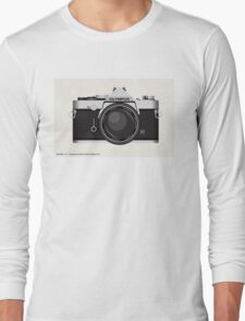 Olympus OM1 35mm slr Long Sleeve T-Shirt