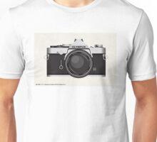 Olympus OM1 35mm slr Unisex T-Shirt