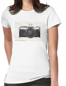 Olympus OM1 35mm slr Womens Fitted T-Shirt