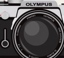 Olympus OM1 35mm slr Sticker
