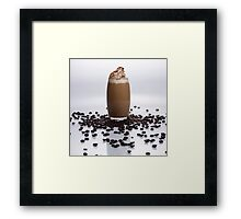 Iced Latte Framed Print
