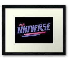 Mr. Universe Tshirt // Steven Universe Framed Print