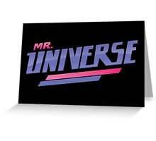 Mr. Universe Tshirt // Steven Universe Greeting Card