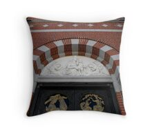 Knock and the Door Will Be Opened... Throw Pillow