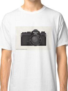 Nikon FE 35mm slr Classic T-Shirt
