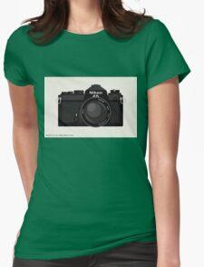 Nikon FE 35mm slr Womens Fitted T-Shirt