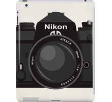 Nikon FE 35mm slr iPad Case/Skin