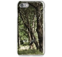 old tire swing  iPhone Case/Skin