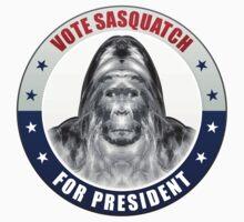 Sasquatch For President T-Shirt