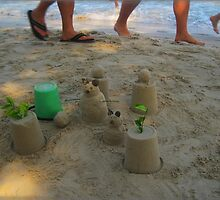 Ignoring The Sand Critters as You Walk Past by DAdeSimone
