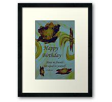 Friends Birthday Framed Print