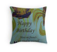 Friends Birthday Throw Pillow