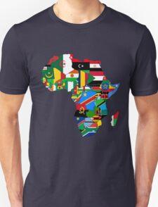 Africa flags Unisex T-Shirt