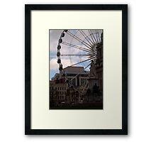 Belfast City Hall and Big Wheel Framed Print